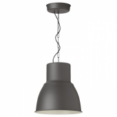 ХЕКТАР Подвесной светильник,темно-серый